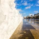 Photos grandes marée à Saint-Malo avec Easy ride