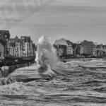 Les images et les photos de la tempête en bretagne pétra, ulla , dirk