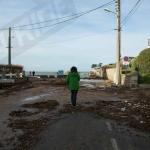 Photo de la Plage du pont pendant les tempêtes Pétra-dirk-Qumaira et les grandes marées
