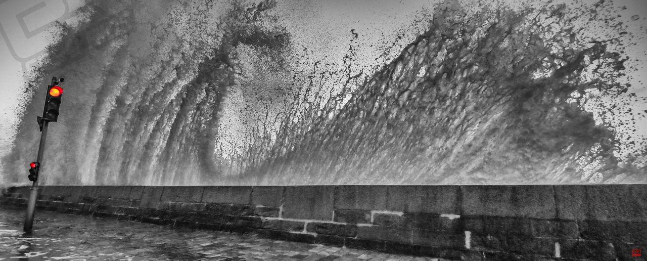 Photo sur cadre dibond YellowKorner de Bretagne en tempêtes