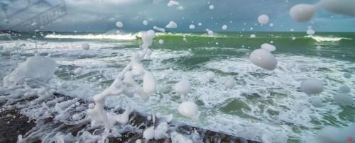 Photo sur cadre dibond de Bretagne en tempêtes
