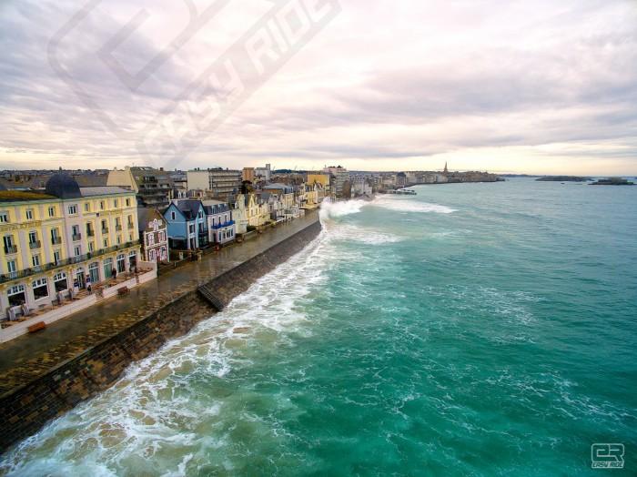 Photos drone grandes marées 5