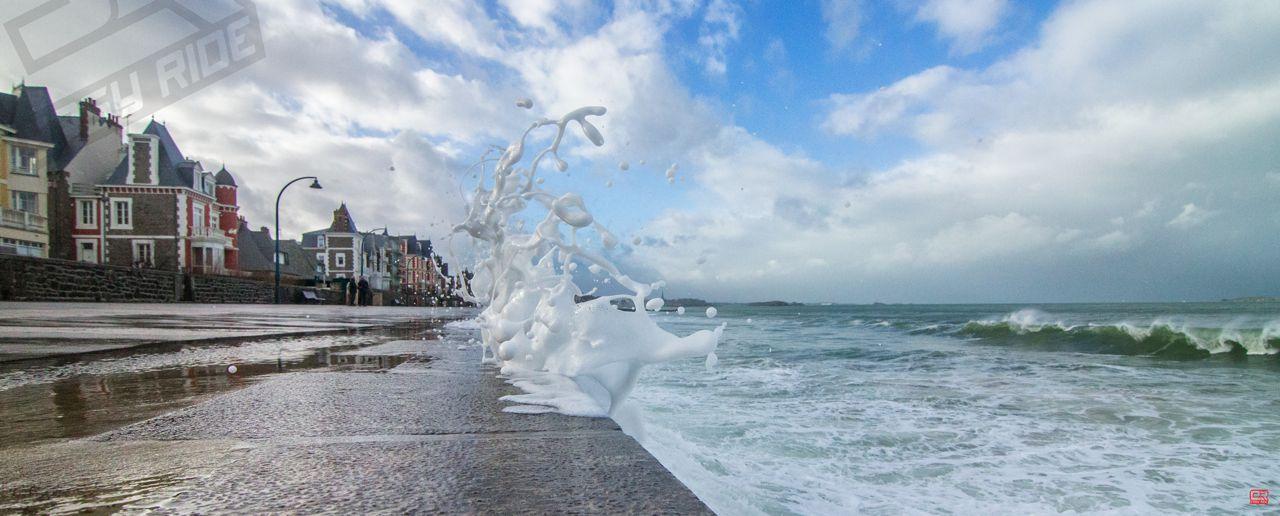 Vente et achat pster cadre dibond de photo en Bretagne en tempête