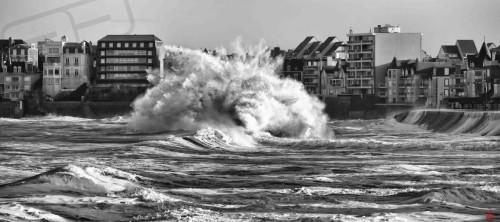 Photos marée du siècle