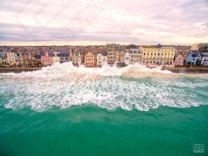 Photos drone grandes marées 2